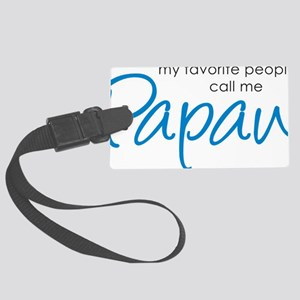 PapawFavoritePeopleV2 Large Luggage Tag