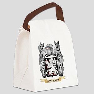 Longeard Coat of Arms - Family Cr Canvas Lunch Bag