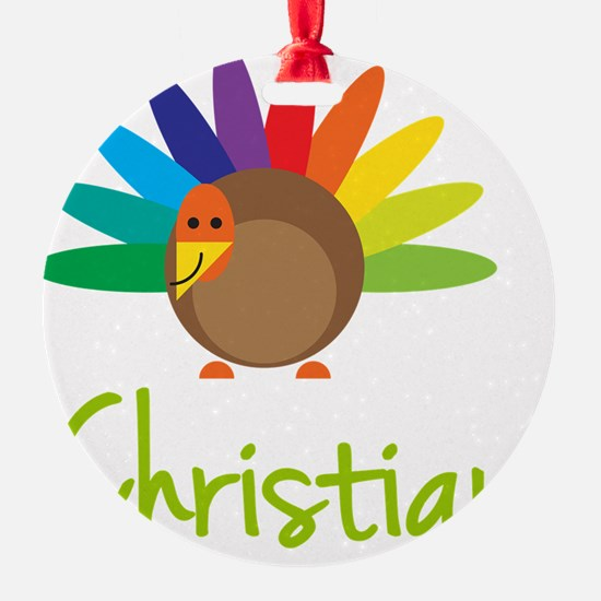 Christian-the-turkey Ornament