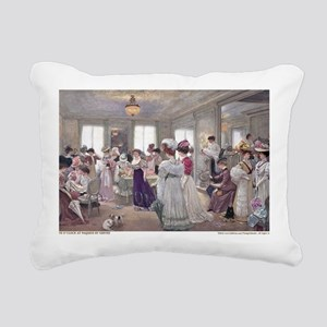 1 JAN GERVEX Paquin Rectangular Canvas Pillow