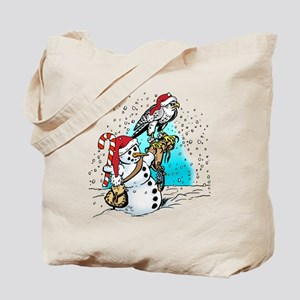 gyr-snowman-hat Tote Bag