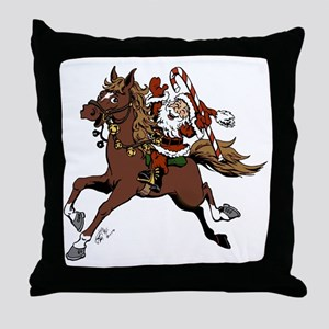 Happy Santa Throw Pillow