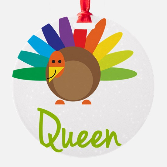 Queen-the-turkey Ornament