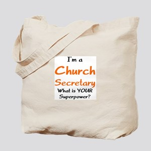 church secretary Tote Bag