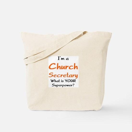 church secretary Tote Bag