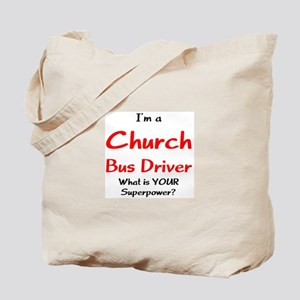church bus driver Tote Bag