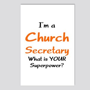 Church Secretary Postcards (Package Of 8)