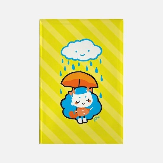 rainyday_notecards Rectangle Magnet