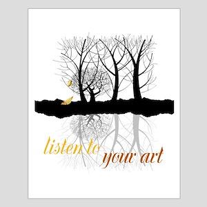 End of Autumn | Customize Listen to your Art Poste