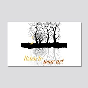 End of Autumn | Customize Listen to your Art Wall