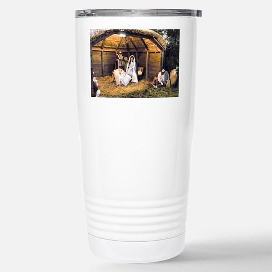 Nativity Family Stainless Steel Travel Mug