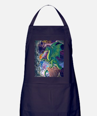 Dragons_Lair_16x20 Apron (dark)