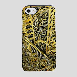 Art Deco Gold Floral Ornament iPhone 7 Tough Case