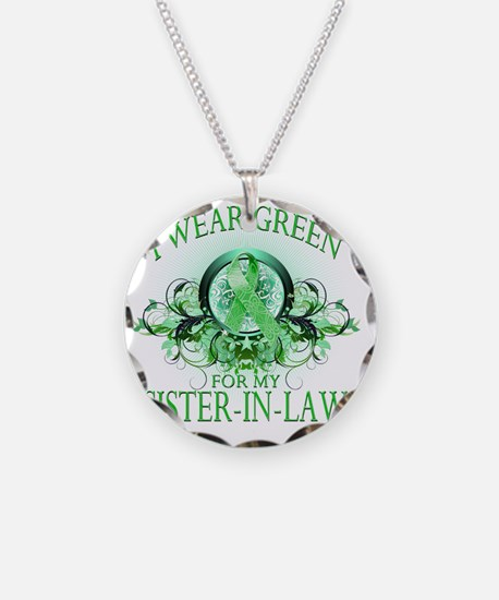 I Wear Green for my Sister I Necklace