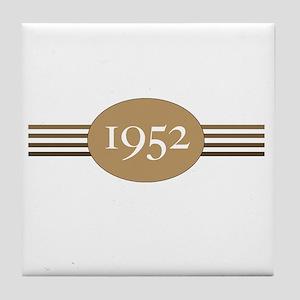 Authentic1952b Tile Coaster