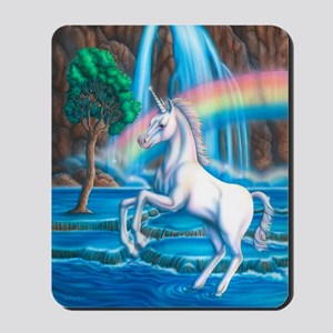Rainbow_Unicorn_16x20 Mousepad