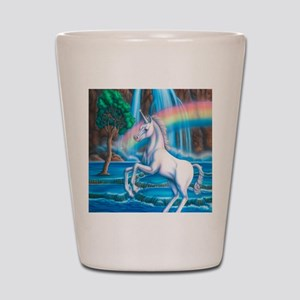 Rainbow_Unicorn_16x20 Shot Glass