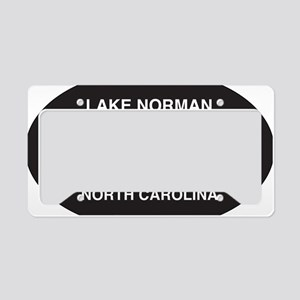 Lake Norman Oval Sticker License Plate Holder
