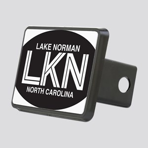 Lake Norman Oval Sticker Rectangular Hitch Cover