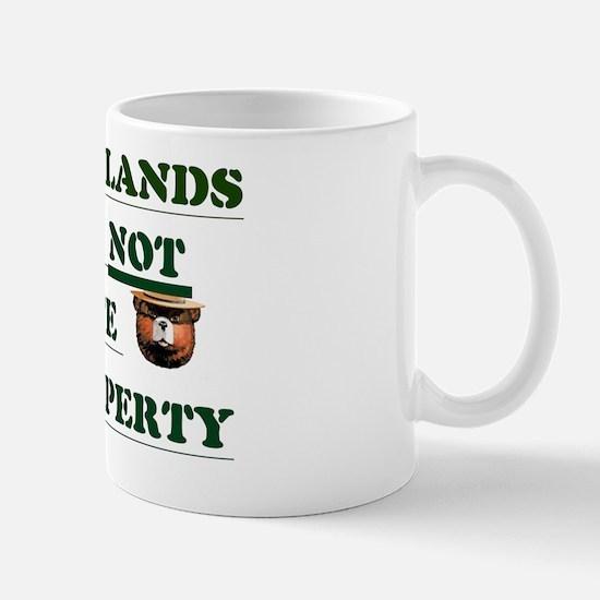PUBLIC LANDSSIGN Mug