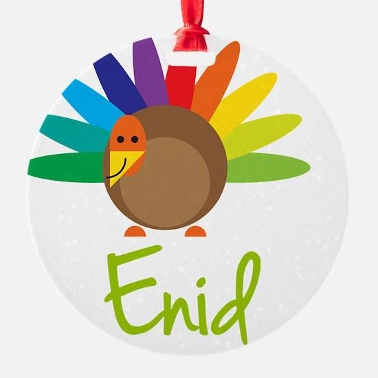 Enid-the-turkey Ornament