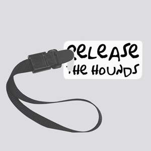 hounds Small Luggage Tag