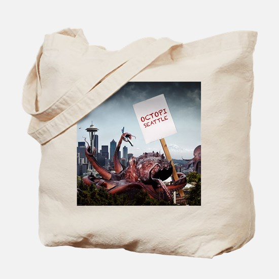 Octopi Seattle Tote Bag