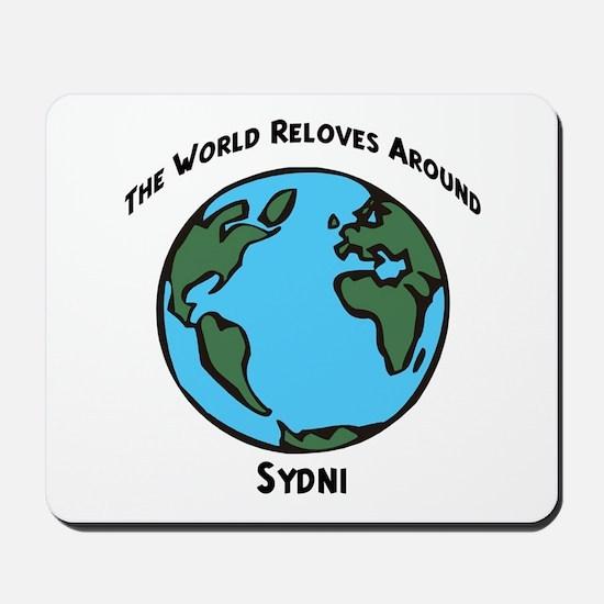 Revolves around Sydni Mousepad