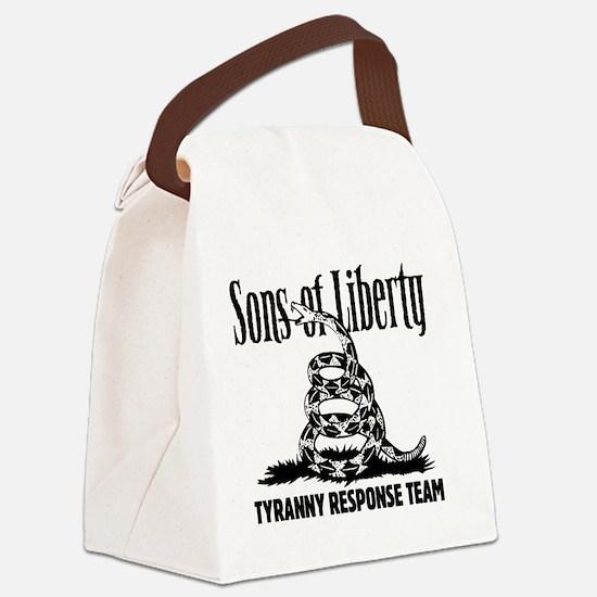 TyrannyResponseTeam Canvas Lunch Bag