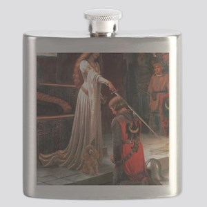 Accolade-Apricot Toy Poodle Flask