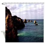 Portugal Ocean Shower Curtain