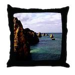 Portugal Ocean Throw Pillow