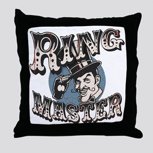 ring-master2-T Throw Pillow