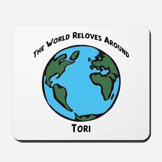 Revolves around Tori Mousepad