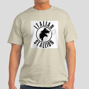 The Italian Stallion (Black) Light T-Shirt