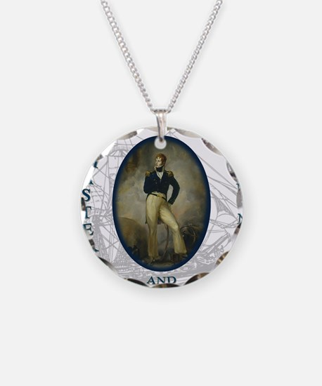 master and commander Necklace Circle Charm