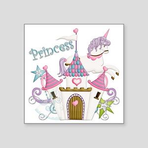 """princess-plain copy Square Sticker 3"""" x 3"""""""