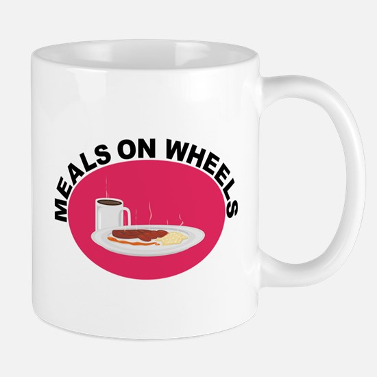 Meals On Wheels Mugs