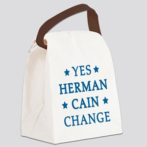 hCain3C Canvas Lunch Bag