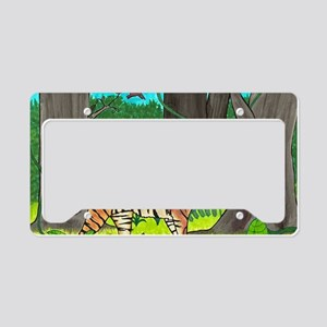 tiger License Plate Holder