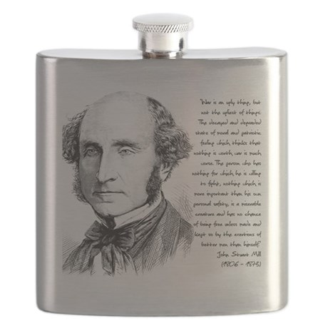 John Stuart Mill Flask