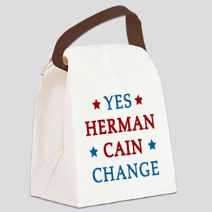hCain3B Canvas Lunch Bag