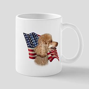 Poodle (Apr) Flag Mug