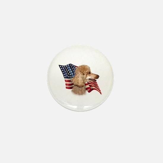 Poodle (Apr) Flag Mini Button