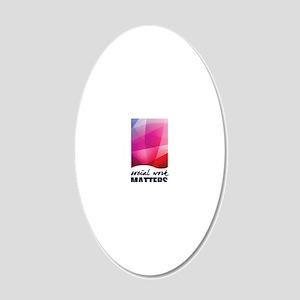 SWM-Logo16x20 20x12 Oval Wall Decal