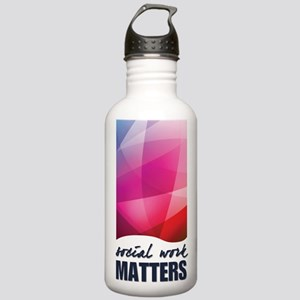 SWM-Logo16x20 Stainless Water Bottle 1.0L