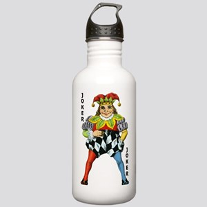 Vintage Court Jester W Stainless Water Bottle 1.0L