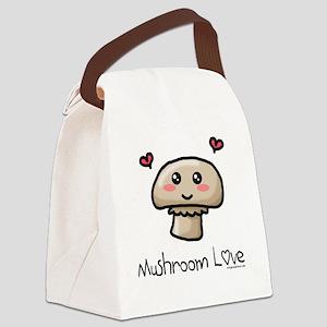 mushroomlove Canvas Lunch Bag
