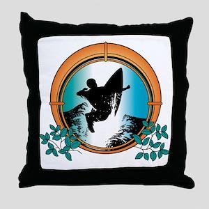 surf27 Throw Pillow