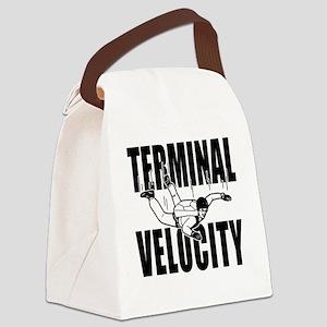 terminalvelocity Canvas Lunch Bag